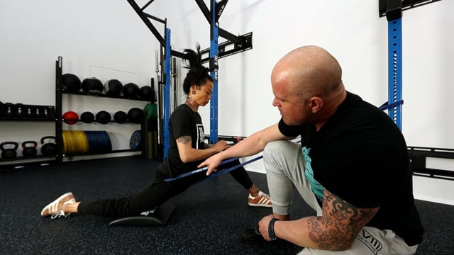 Banded Hip Extension
